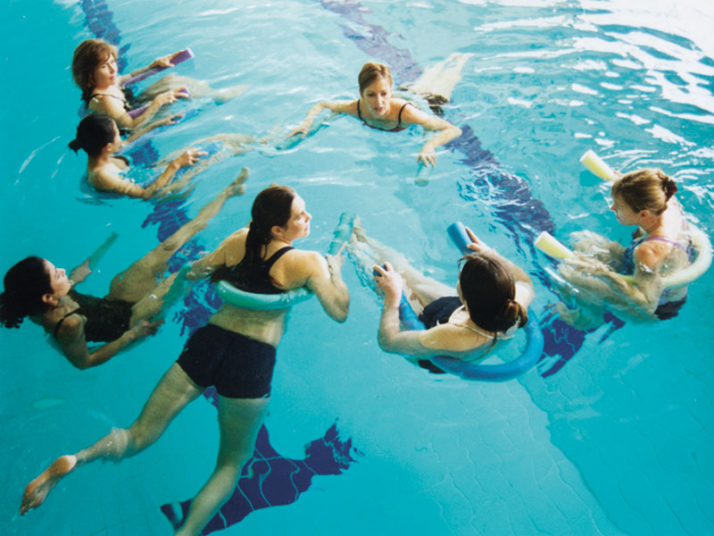 water exercise is good for mums and good for babies